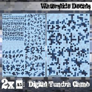 Calcas Al Agua – Camuflaje Tundra Digital
