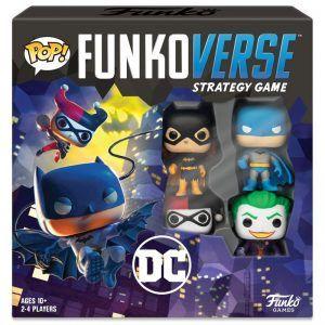 Funkoverse Juego De Mesa DC Comics Base Set (Juego En Inglés)