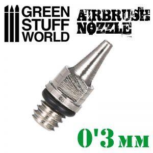 Obturador Aerografo 0.3mm