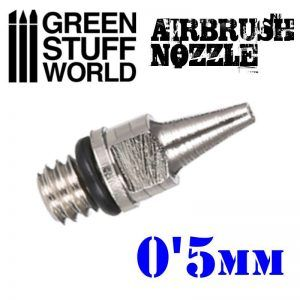Obturador Aerografo 0.5mm