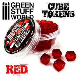 Tokens Cubos Rojos