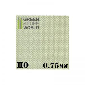Plancha Plasticard DIAMANTE HO 0,75 Mm – Tamaño A4