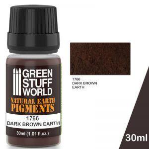 Pigmento DARK BROWN EARTH