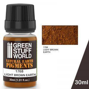 Pigmento LIGHT BROWN EARTH