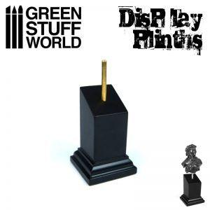 Pedestal Bustos Negro 3×3 Cm