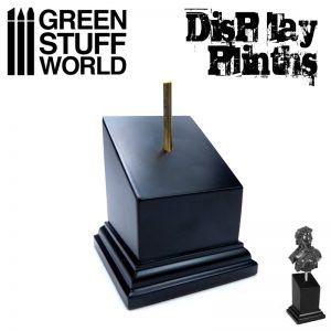 Pedestal Bustos Negro 5×5 Cm