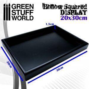 Pedestal Cuadrado Vacio 20×30 Cm