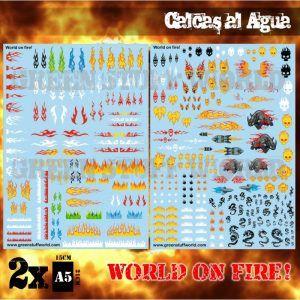 Calcas Al Agua – World On Fire