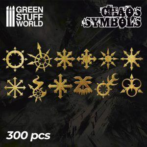 GREEN STUFF WORLD: Runas Y Simbolos Caos