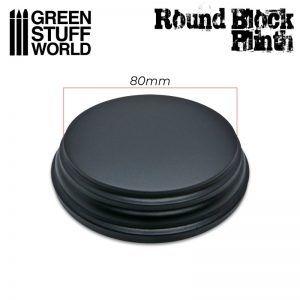 Pedestal Base Redonda 8cm