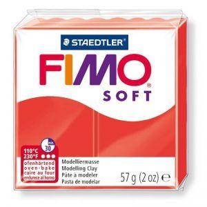 Fimo Soft 57gr – Rojo Indio
