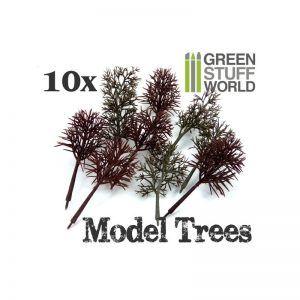 10x Arboles Modelismo