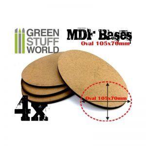 Peanas DM – Ovaladas AOS 105x70mm