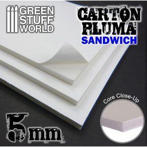 Carton Pluma 5 Mm