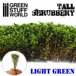Arbustos Altos – Verde Claro
