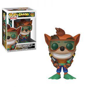 POP! Games Crash Bandicoot: Crash Bandicoot With Scuba Gear 421