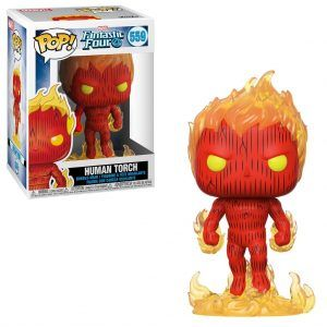 POP! Marvel Fantastic Four: Human Torch 559