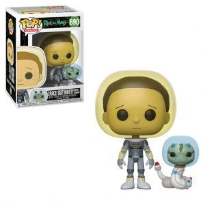 POP! Animation Rick And Morty: Space Suit Morty With Snake 690