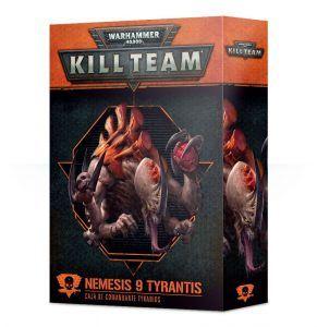 Kill Team: Nemesis 9 Tyrantis Comandante Tiranido (Castellano) (102-34-03)