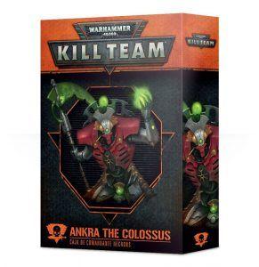 Kill Team: Ankra The Colossus Comandante Necron (Castellano) (102-36-03)