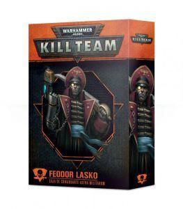 Kill Team: Feodor Lasko Comandante Astra Militarum (Castellano) (102-39-03)