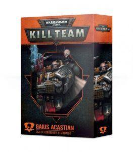 Kill Team: Gaius Acastian Comandante Deathwatch (Castellano) (102-40-03)