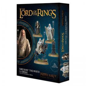 Middle Earth Strategy Battle Game: Saruman The White & Grima (30-49)
