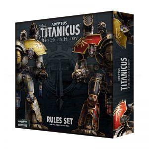 Adeptus Titanicus: Rules Set (Ingles) (400-15-60)