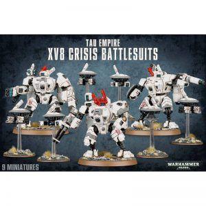 TAU Empire: XV8 Crisis Battlesuits (56-07)