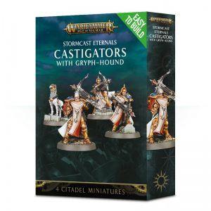 Stormcast Eternals: Easy To Build -Castigators With Gryph-Hound (71-08)