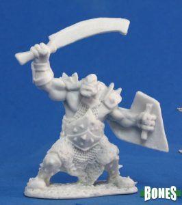 Reaper: Orc Marauder (Sword & Shield) 77042