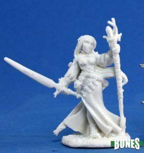 Reaper: Lysette Elf Wizard 77076