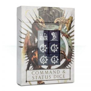 AGE OF SIGMAR: COMMAND & STATUS DICE (86-80)