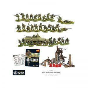 """Bolt Action: 2 Starter Set """"Band Of Brothers"""" – Spanish"""