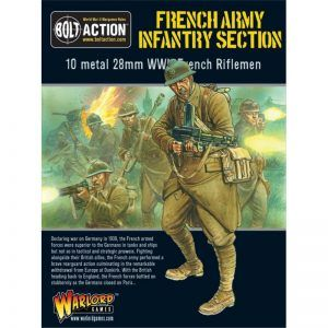 Bolt Action: French Army Infantry Section