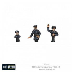 Bolt Action: Blitzkrieg German Panzer Crew (1939-42)