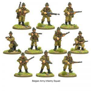 Bolt Action: Belgian Infantry Squad