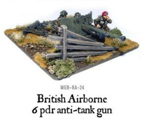 Bolt Action: British Airborne Six Pounder AT Gun