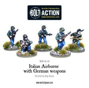 Bolt Action: Italian Airborne With German Weapons
