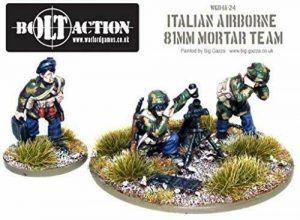 Bolt Action: Italian Airborne Medium Mortar Team