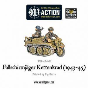 Bolt Action: Fallschirmjager Kettenkrad (1943-45)