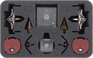 HSMEMV040BO Foam Tray For Star Wars X-Wing: ARC-170 + Delta-7 Aethersprite + V-19 Torrent
