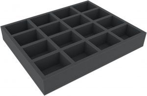 FSMEFP050BO Full-Size Foam Tray With 16 Compartments