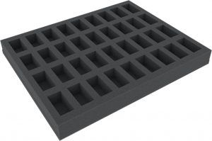 FS035BO 35 Mm Full-Size Foam Tray With 36 Compartments