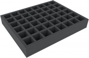FS050I048BO 50 Mm Full-Size Foam Tray With 48 Square Compartments