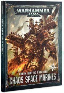 Chaos Space Marines: Codex 8ª Edicion