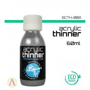 SCALE COLOR: ACRYLIC THINNER (SMALL BOTTLE) SCTH-002