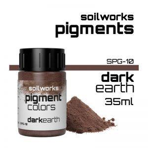 SOILWORKS: PIGMENTOS DARK EARTH SPG-10