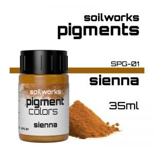 SOILWORKS: PIGMENTOS SIENNA SPG-01