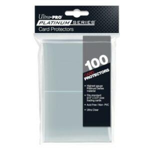 UP – 2-1/2″ X 3-1/2″ Platinum Series Card Protectors (100u)